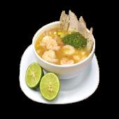 Ceviche mixto de pescado y camarones