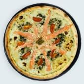 Піца з лососем, рікотою і шпинатом (540г)