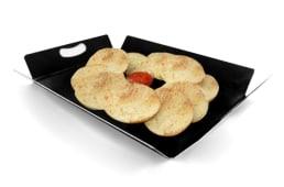 Bandeja de molletes tostados con tumaca (20 uds.)