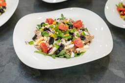Salada de Feijão Frade com Atum e Ovo