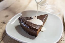 Tarta de chocolate Lateral