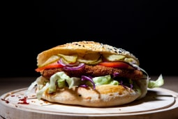 Mega sandwich snitel