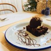 Brownie Casero con Nueces