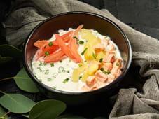 Ніжний вершковий суп з лососем (250г)