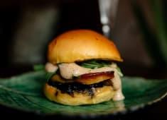 Mini hamburguer de Foie Gras