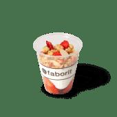 Yogurt desnatado con mermelada de fresa y granola (small)