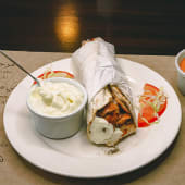 Sándwich shawarma