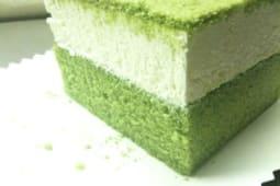 Torta giapponese al Tè verde