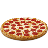 Pizza de pepperoni (mediana)