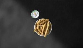 Fries & dzadziki
