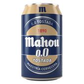 Cerveza Mahou 0.0 tostada (33 cl.)