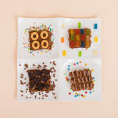 Brownies decorados pack (4 uds.)