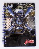 Cuaderno Espiral A5 200Hjs Cuadros Economico Andaluz
