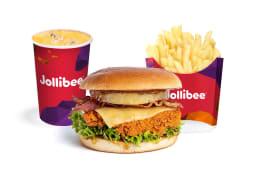 Tropical Chicken Burger - Patatine Medie - Bibita 0,4L