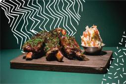 Al mercato asian BBQ ribs