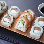 Full salmón x 15 piezas