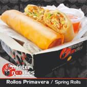 Rollitos de Primavera (2 uds.).