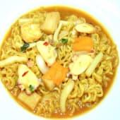 05302. Spaghetti Coreani con Frutti di Mare Piccante