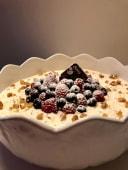 Delícia de frutos vermelhos (Taça grande)