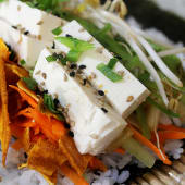 Roll (burrito) tofu