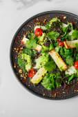Салат з смаженим халумі (230г)