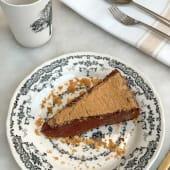 Tarta de chocolate fundente (ración)