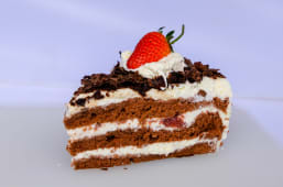 Black forest cake slice