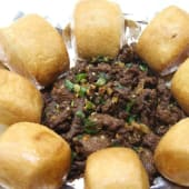 Roast Beef With Chinese Bread