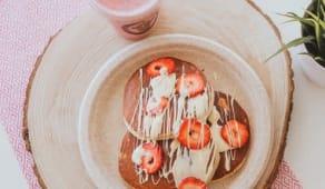 Fresh Juice + Pancakes