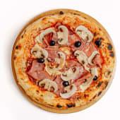 """Неаполитанская пицца """"Ветчина и грибы"""" (30 см.)"""