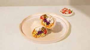 Burrito Elote Vegeratian