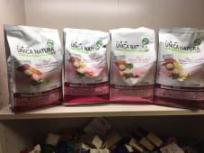 Unica Natura mini-salmone riso piselli 800gr