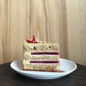 Торт Фісташка - Малина (200г)