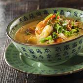 Curry amarillo malasio con tofu