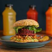 Menú healthy burger