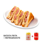Menu Tosta Top Salsicha