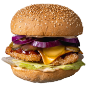 Burger Kura BBQ XL