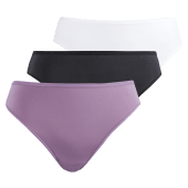 3pack core hi-leg panty