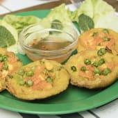 Tortitas banh khot de verduras