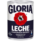 Leche Evaporada Entera Gloria 400gr