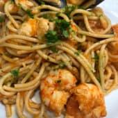 Espaguetis a la marinera