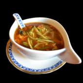 Supa acra-iute cu porc (picant)