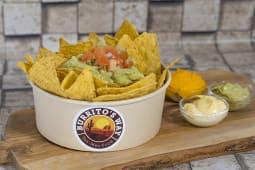 Guaca nachos
