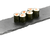 Рол з лососем (100/16 г)