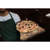 Pizza Fugazzetta Con Cebolla Dulce, Bacon Y Parmesano