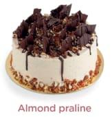 Cake Almond Praliné - 8 personnes