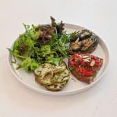 Vegetable Tartine