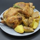 Pollo Asado (Entero) Con Patatas