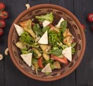 Салат з хрусткими баклажанами (300г)