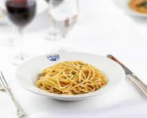 Spaghetti all'acciuga